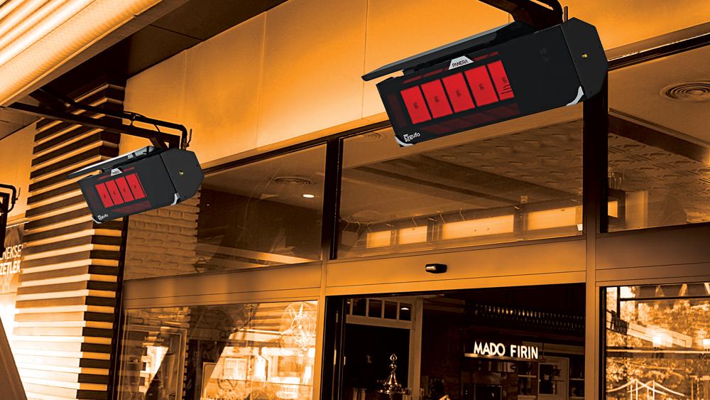 Seramik Plakalı Doğalgazlı Cam Panelli Radyant Isıtıcı - Gufo NG - 11,4 kW4