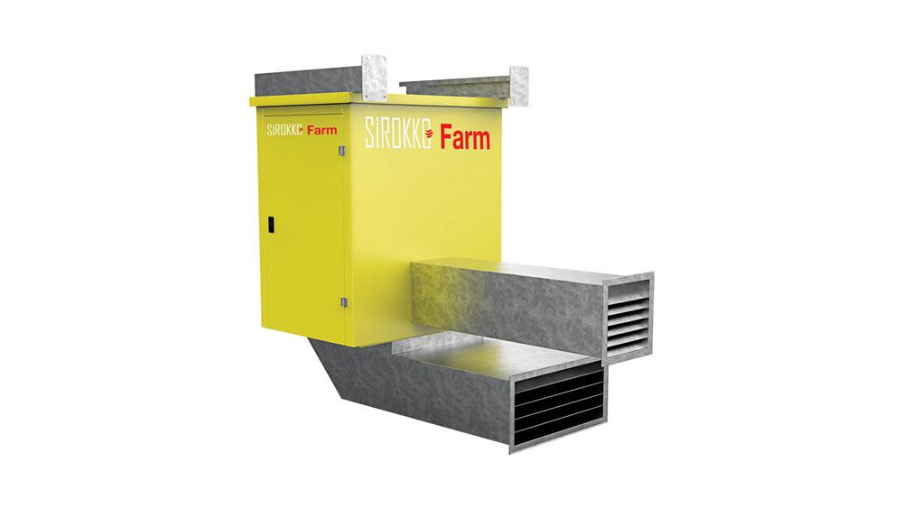 Sirokko Farm - Tavuk Çiftiliği Isıtıcıları - Doğalgazlı Kapalı Alan Isıtıcı Sıcak Hava Üreteçleri - KM 80