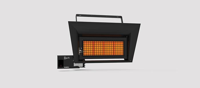 Seramik Plakalı Radyant Isıtıcı - Gufo GT 4