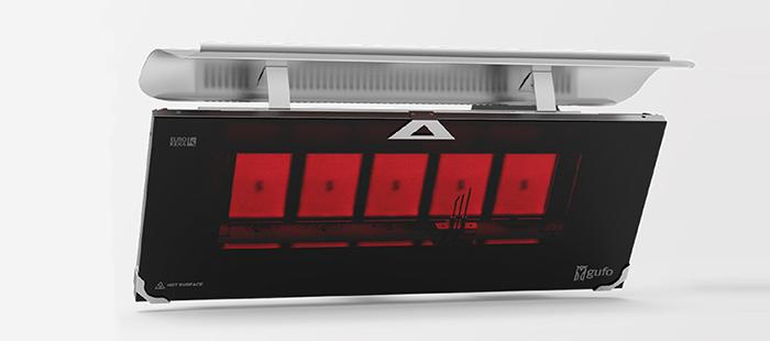 Gufo 5-HG Seramik Radyant Isıtıcı Dekoratif Cafe Isıtma Sistemleri