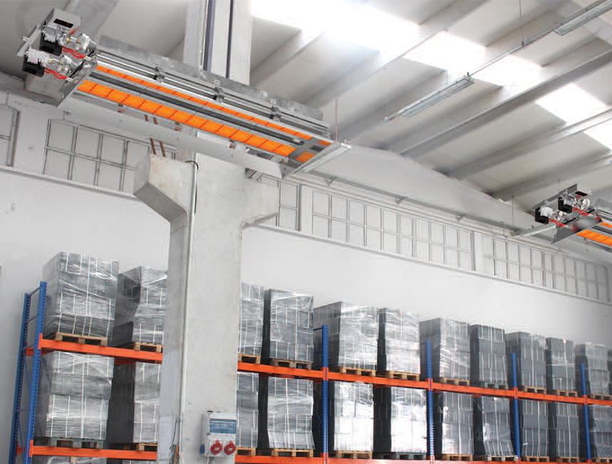 Seramik Plakalı Radyant Isıtıcı - Gufo EKO LD28- 52 kW ÇİFT KADEME+KUMANDA4