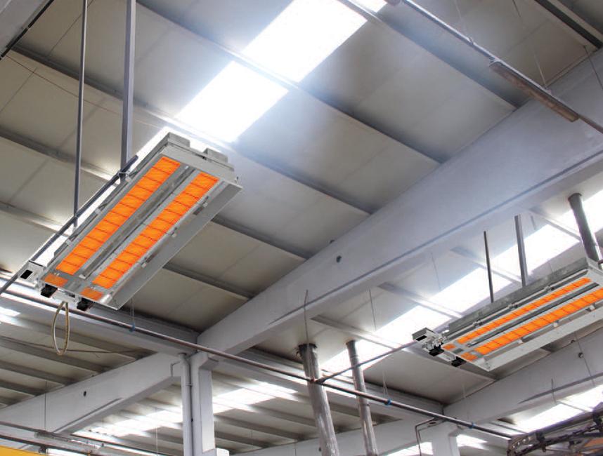 Seramik Plakalı Radyant Isıtıcı - Gufo EKO LD28- 52 kW ÇİFT KADEME+KUMANDA3