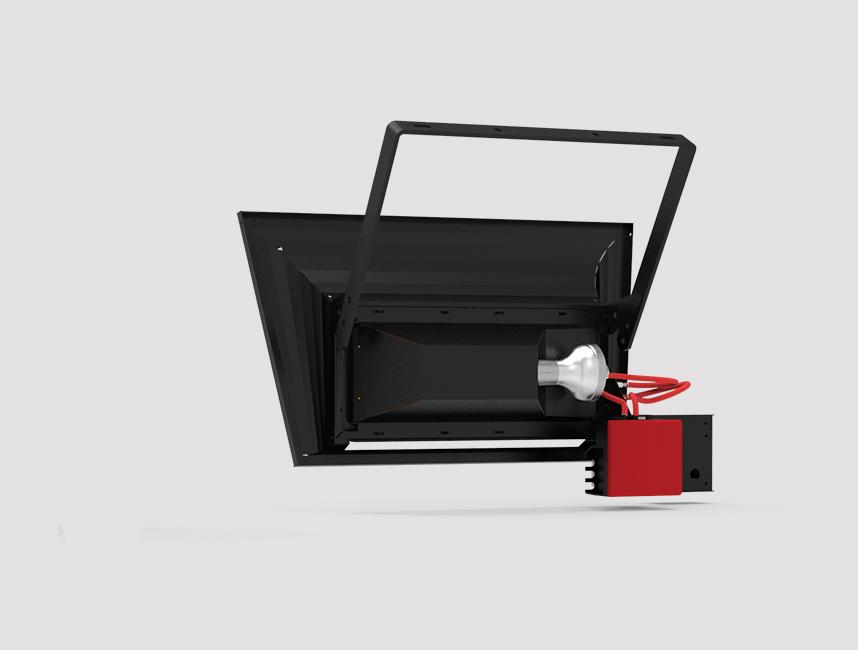 Seramik Plakalı Radyant Isıtıcı - Gufo GT 4 - 8 kW ÇİFT KADEMELİ+KUMANDALI5