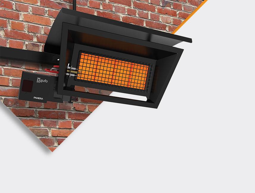 Seramik Plakalı Radyant Isıtıcı - Gufo GT 4 - 8 kW ÇİFT KADEMELİ+KUMANDALI4