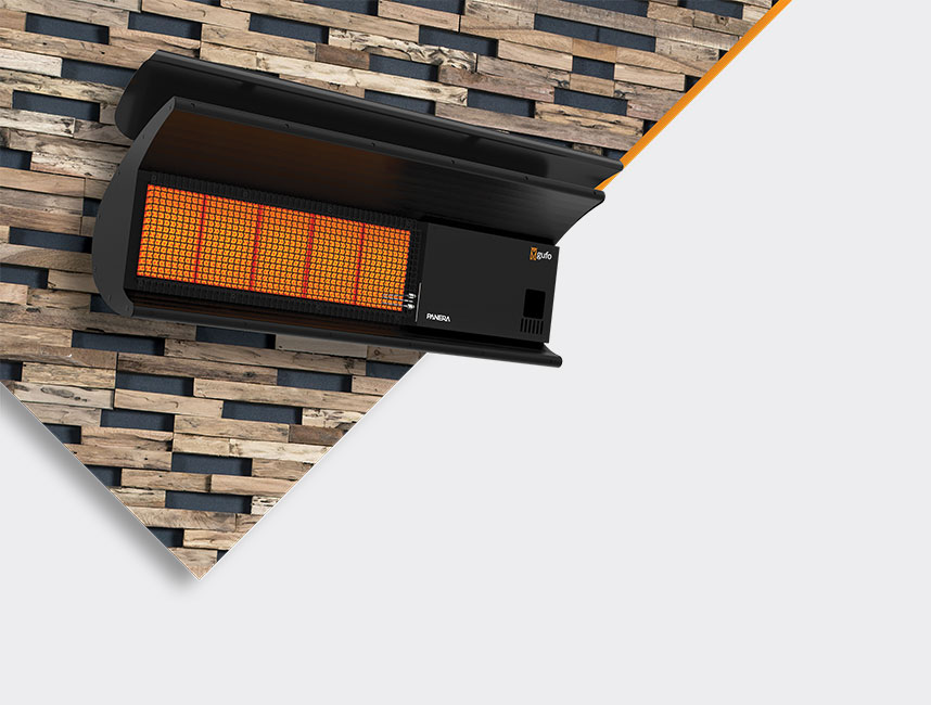 Doğalgazlı Açık Alevli Radyant Isıtıcı - Gufo Neo - 11,4 kW3