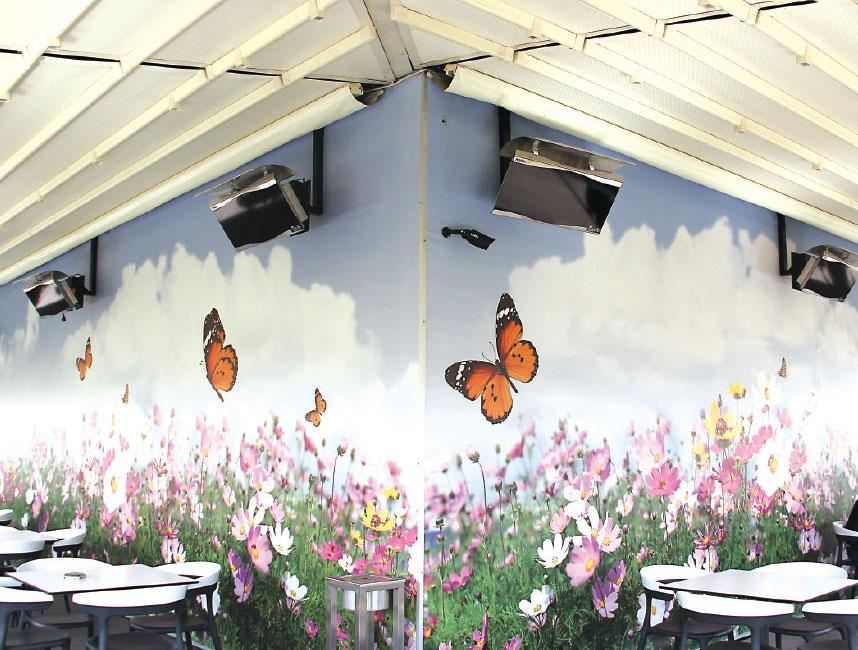 Gufo HG Seramik Radyant Isıtıcı Dekoratif Cafe Isıtma Sistemleri           - 12,5 kW3