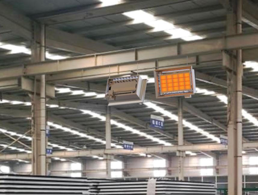 Seramik Plakalı Radyant Isıtıcı - Gufo EKO D15- 30,5 kW TEK KADEMELİ2