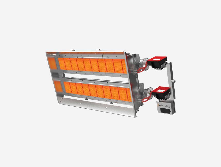 Seramik Plakalı Radyant Isıtıcı - Gufo EKO LD20- 36 kW TEK KADEME