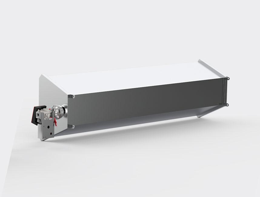Seramik Plakalı Radyant Isıtıcı - Gufo GP İzolasyonlu - 30 kW ÇİFT KADEME+KUMANDA3