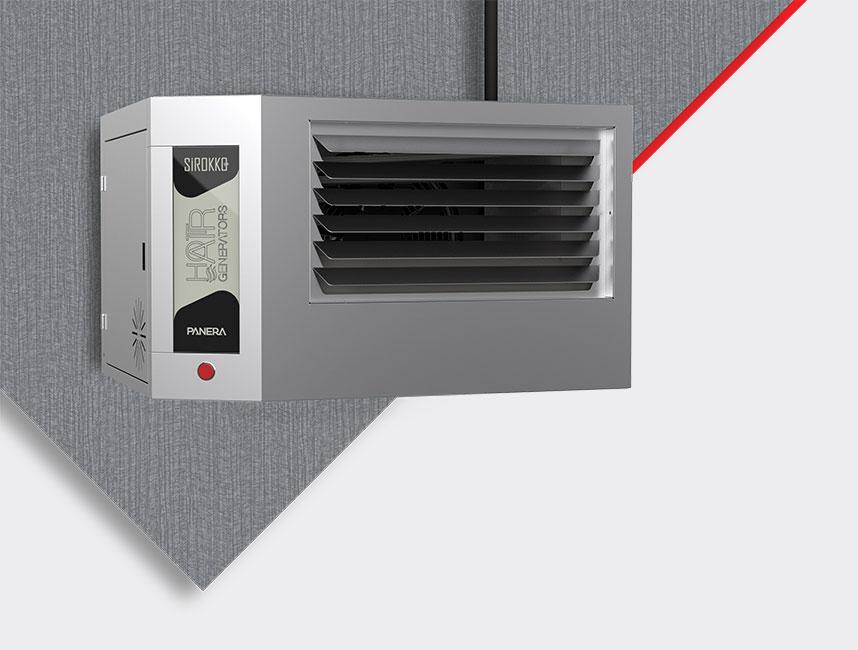 Doğalgazlı Kapalı Alan Isıtıcı Sıcak Hava Üreteçleri - SİROKKO 402