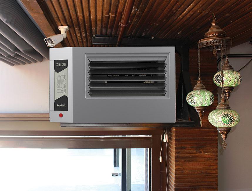 Doğalgazlı Kapalı Alan Isıtıcı Sıcak Hava Üreteçleri - SİROKKO 404